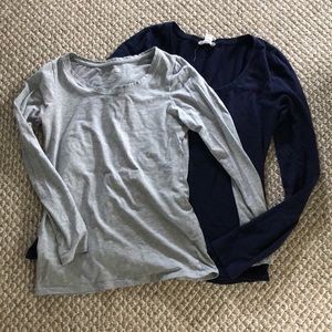 2 long sleeve shirts for $12
